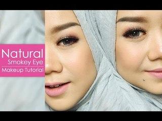 Natural Smokey Eye Tutorial   Cheryl Raissa (Using Morphe Eyeshadow Palette)