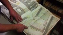 Visite des archives municipales avec Pierre Jan