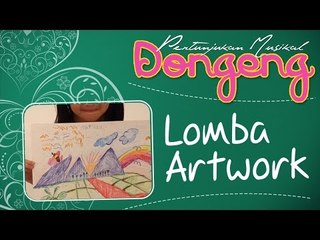 Lomba Artwork - Pertunjukan Musikal Dongeng