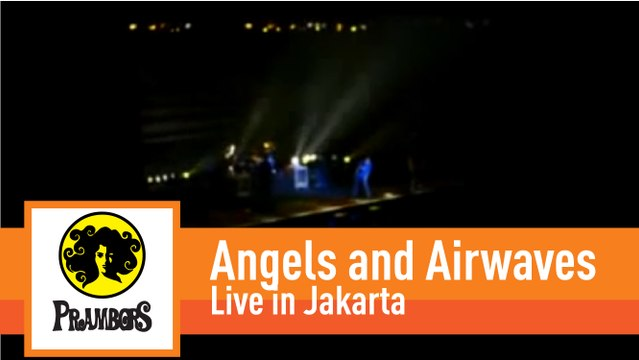 Angels and Airwaves live in Jakarta