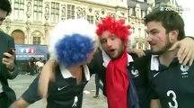 Mondial : les fans des Bleus fous de joie!