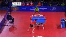Tennis de table : un point incroyable de 41 échanges aux Jeux du Commonwealth