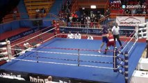Ce boxeur croate met l'arbitre au tapis!