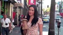 Caméra cachée : une jolie fille fait semblant d'être ivre dans la rue