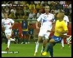 But de Thierry Henry contre le Brésil