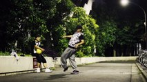advent kenichi & SHOUGO | Freestyke Basketball & Hiphop | ODF Street Dance clip #21