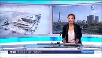 Reportage future gare St-Denis/Pleyel (93) au JT France 3 Paris