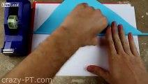 LiveLeak.com - How to Make a Paper Nunchaku - (Ninja Weapons)