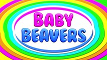 Chant the Alphabet #2   Learn the ABCs with Baby Beavers, Fun & Colorful Educational Video