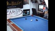 Guy breaks physics: Pool trick shots!