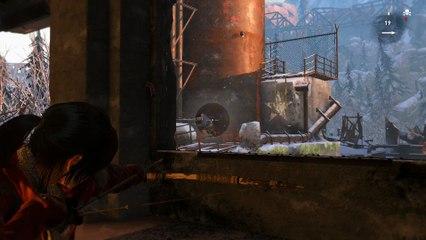 10 minutes de gameplay de Rise of the Tomb Raider