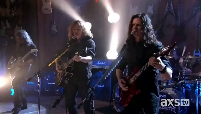 Megadeth – Use The Man – (Live At Guitar Center)