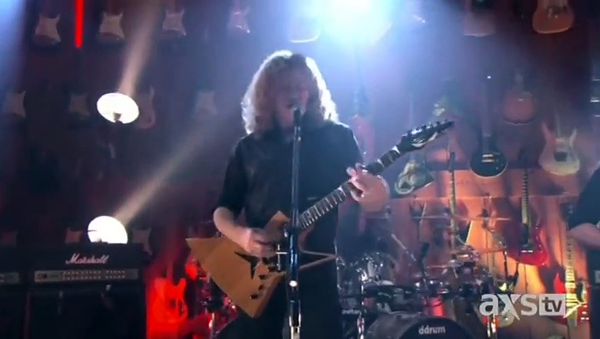 Megadeth – Whose Life (Is It Anyways) – Live At Guitar Center