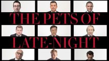Stephen Colbert, Conan O'Brien, Larry Wilmore and the Rest of the Late Night Crew Talk About Each Other's Pets
