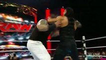 WWE RAW 9-21-15 Randy Orton joins with Dean Ambrose and Roman Reigns
