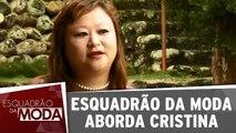Conheça Cristina, a participante da semana