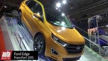 Ford Edge, Ecosport et Ranger (2016) : Présentation à Francfort