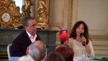 """Françoise Rossinot, commissaire générale, """"Le livre sur la place"""", Nancy 2015"""
