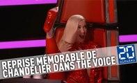 Reprise mémorable de «Chandelier» dans The Voice