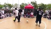 Freestyle Basketball Schlacht, unglaubliche Basketball,Street Basketball