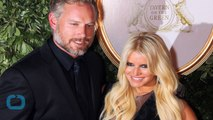 Jessica Simpson Rocks an Itty Bitty Brown Dress While Running Errands