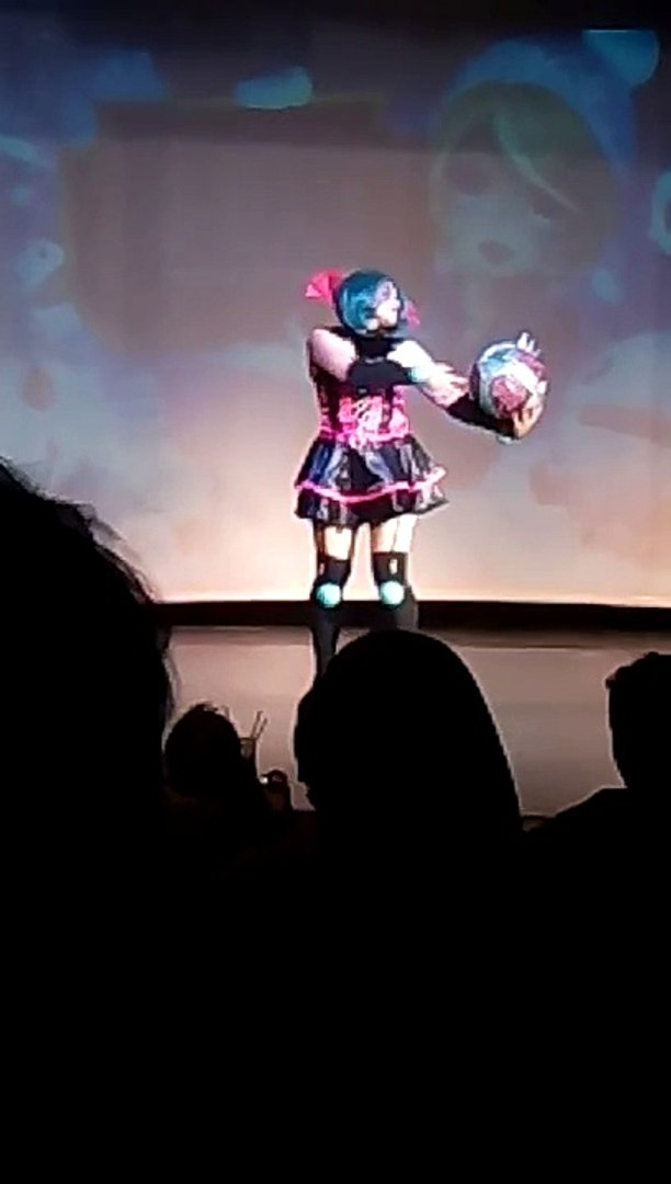 Gothic Orianna Cosplay Performance - Festival of Legends Mayo 2015
