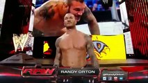 Roman Reigns & John Cena vs Seth Rollins, Randy Orton & Kane 2-on-3 Handicap Match  Raw Latino ᴴᴰ