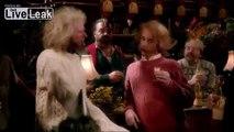 Vicious pub brawl last night - UK style - folk rap battle at the old Moosic Tavern