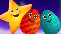 Surprise Eggs Nursery Rhymes | Twinkle Twinkle Little Star | Learn Colours & Objects | ChuChu TV