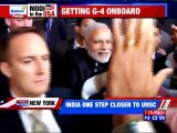 India one step closer to UNSC seat