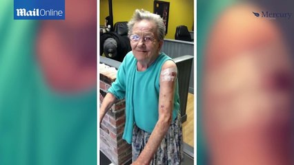 Granny runs away from care home to get her first tattoo