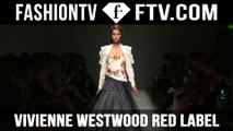 Vivienne Westwood's 'Protest-Style' Runway Show at London Fashion Week | LFW | FTV.com