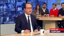 """Pour François Hollande, Marine Le Pen parle """"comme un tract du Parti communiste des années 70"""""""
