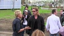 Brad Pitt house hunts in UK