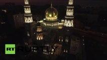 Images aériennes de l'ancienne mosquée de Moscou