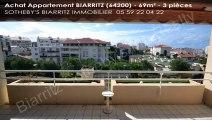 A vendre - appartement - BIARRITZ (64200) - 3 pièces - 69m²