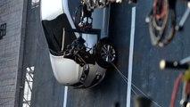 Le crash-test vertical du Kia Grand Carnival