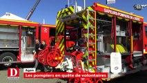 Les pompiers en quête de volontaires lors du 122e congrès national des pompiers à Agen