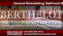 Bathroom Remodeling New Orleans, LA | Berthelot Construction Services