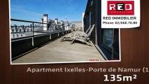 For Rent - Apartment - Ixelles-Porte de Namur (1050) - 135m²