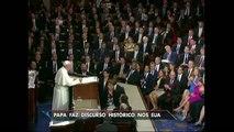 Papa Francisco faz discurso histórico no Congresso dos Estados Unidos