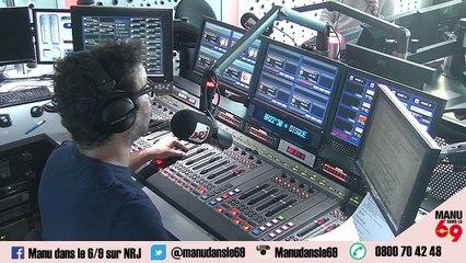 Ce matin Manu a appelé le Premier Ministre pour savoir quelle musique il avait le droit de passer !