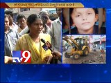 6 years Girl washed away in drain in Visakha
