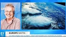 Climat : l'Europe est primordiale