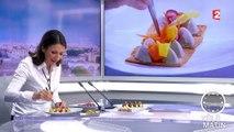 Les 4 Vérités-Fête de la gastronomie : Anne-Sophie Pic présente son menu