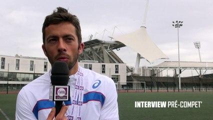 INTERVIEW PRÉ-COMPET' : Sylvain Court