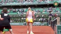 40. J. Goerges v. C. Wozniacki 2015 French Open Women s Highlights   R64