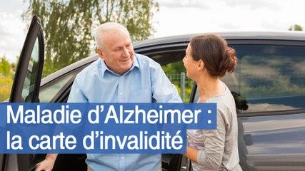 Maladie d'Alzheimer : la carte d'invalidité
