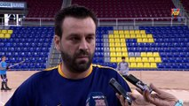 [ESP] Ricard Muñoz y Sergi Fernández previa Barça Lassa - Recam Làser Caldes