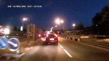hit and run plus chase and another accident. typical day in Russia